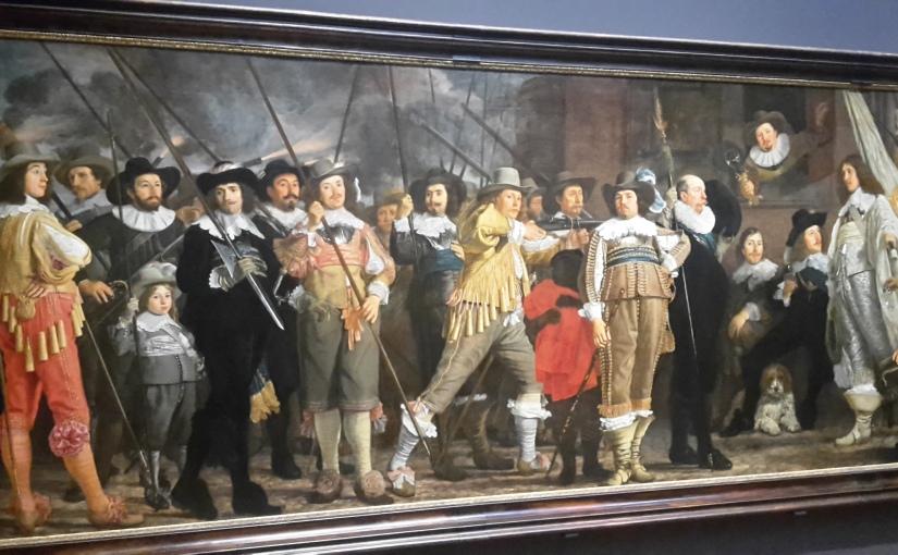 Das Gewaltmonopol in der Kunst. Mit Polizeistudierenden im RijksmuseumAmsterdam